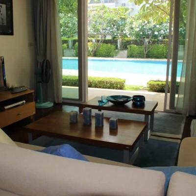 Апартаменты в аренду на берегу в центре Хуа Хина, Таиланд