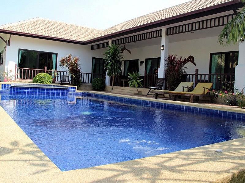 Снять виллу с бассейном в Тайланде Хуа Хин