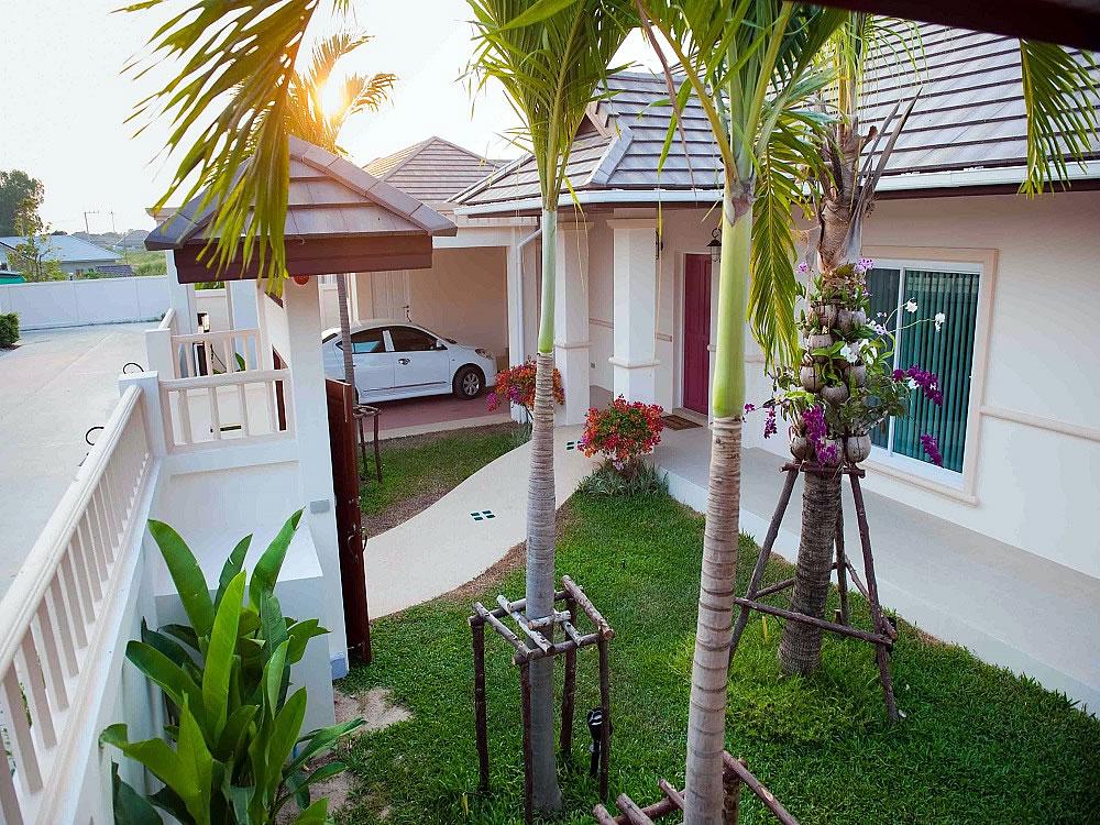 Балийский стиль дом купить в Хуа Хине