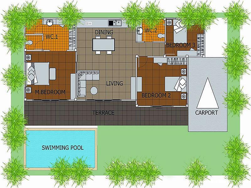 Вилла в поселке в Хуа Хине Mill Pool Villas
