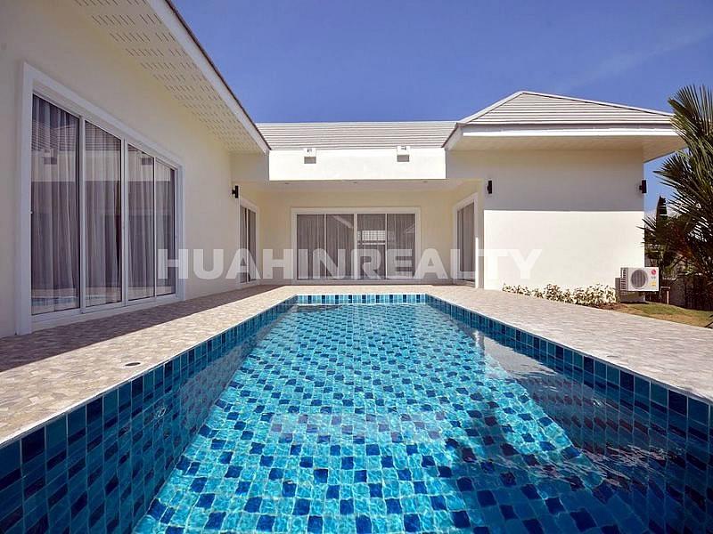 Новая меблированная вилла с бассейном в Хуа Хине 5