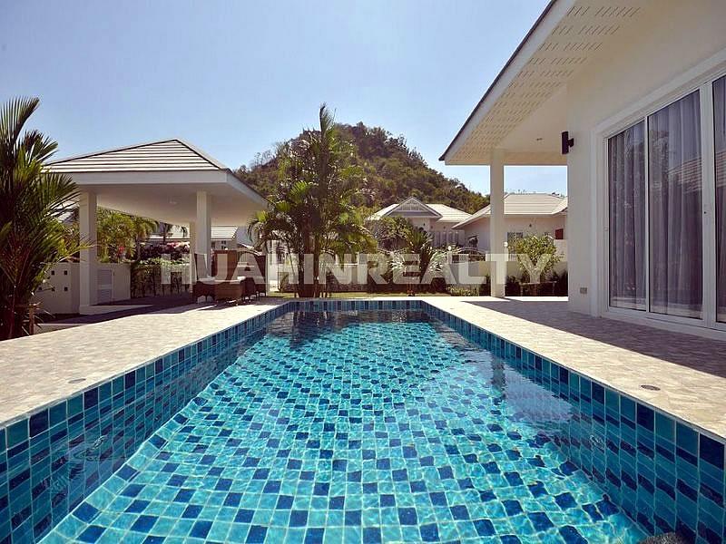 Новая меблированная вилла с бассейном в Хуа Хине 6