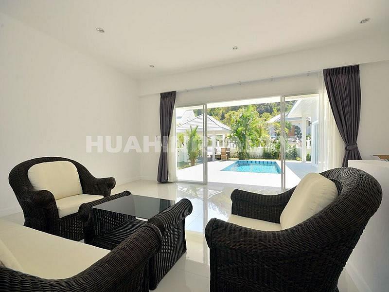 Новая меблированная вилла с бассейном в Хуа Хине 8