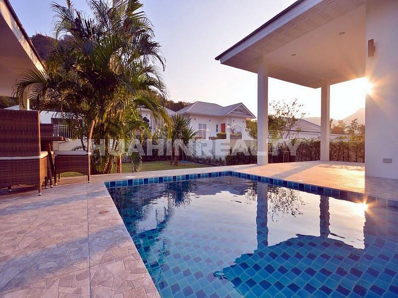 Новая меблированная вилла с бассейном в Хуа Хине 11