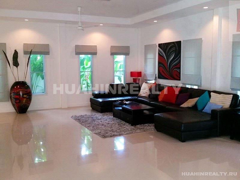 Большая вилла с 5 спальными комнатами в Хуа Хине 16