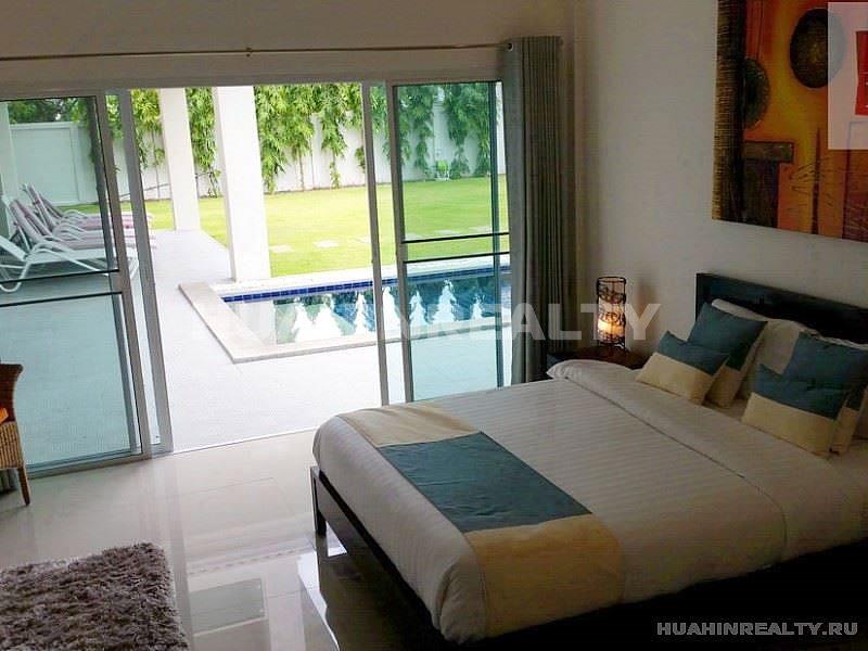 Большая вилла с 5 спальными комнатами в Хуа Хине 19