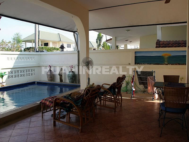 Недорогой дом с бассейном в Хуа Хине 3