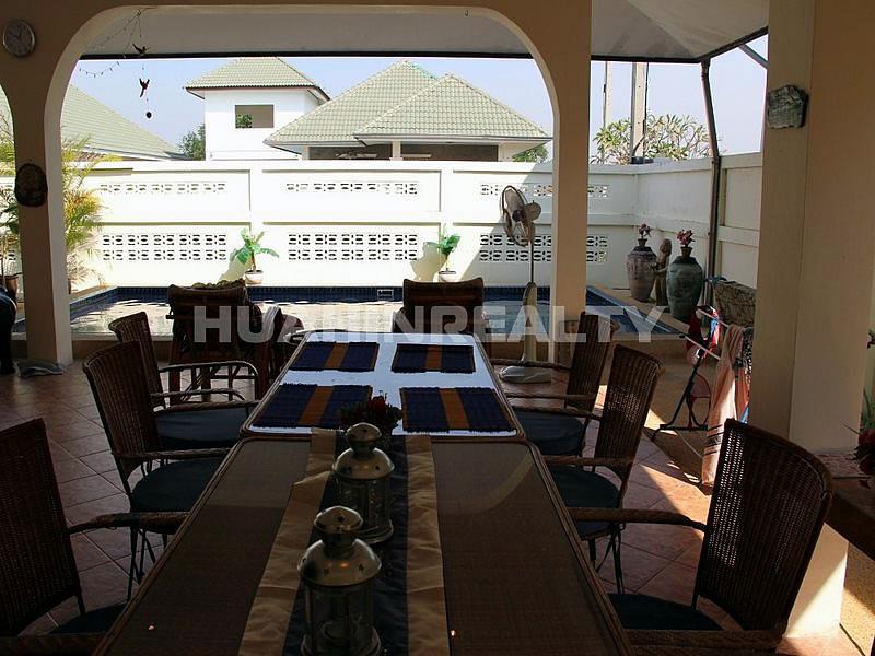 Недорогой дом с бассейном в Хуа Хине 4