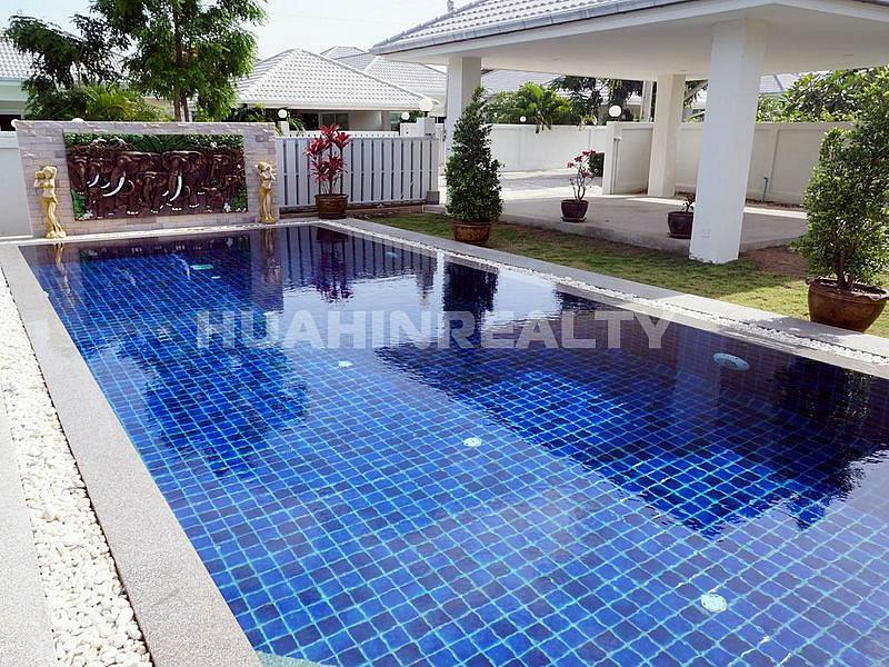 Новая комфортабельная вилла в аренду на сои 88 в Хуа Хине 7