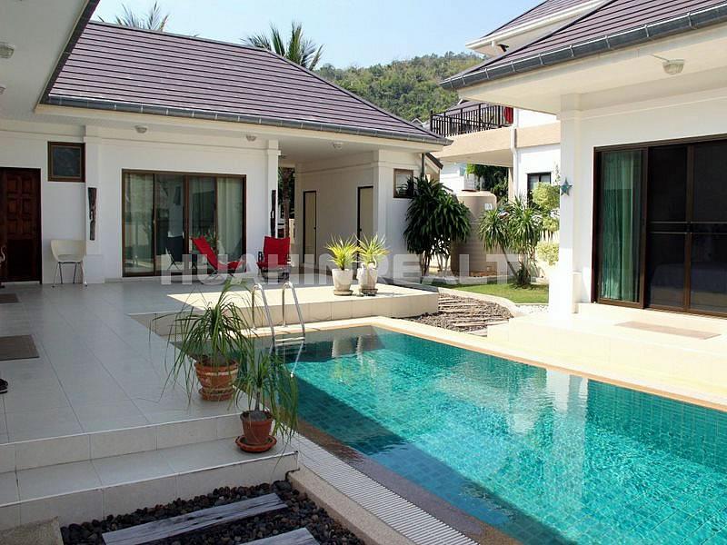 3 спальная вилла в охраняемом поселке в районе Као Тао 12