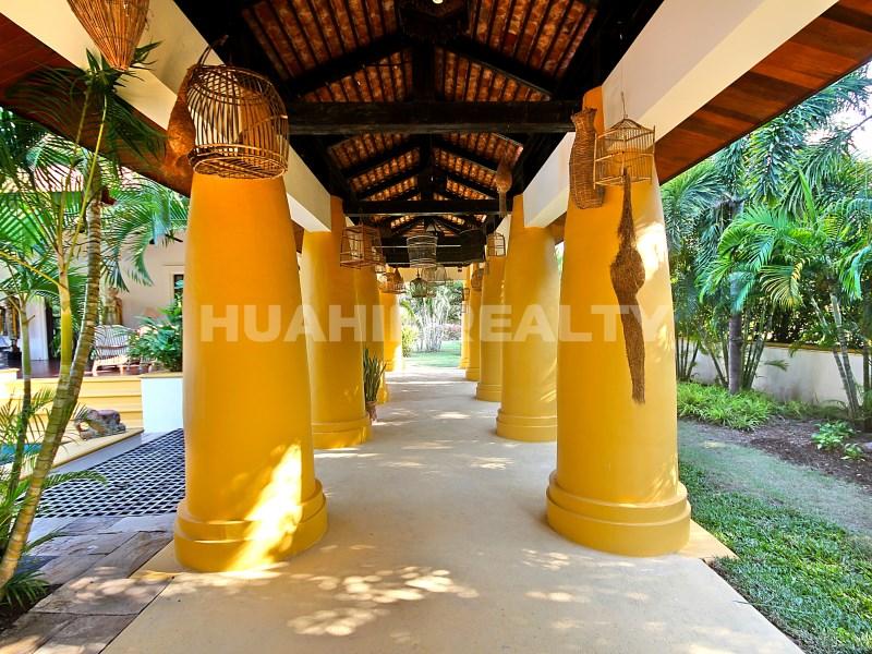 Люкс вилла с 5 спальнями в аренду в Хуа Хине 19
