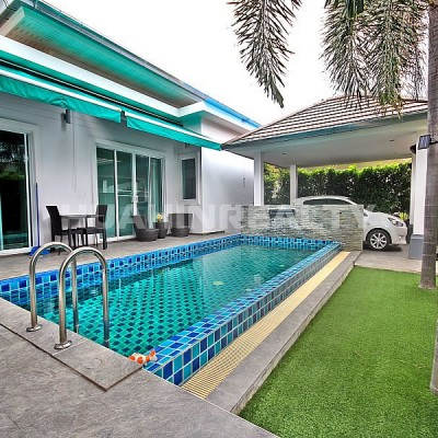 Новый 3 спальный дом с бассейном в Хуа Хине