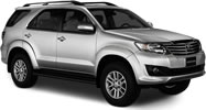 Toyota Fortuner (6 мест)