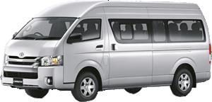 Toyota Commuter (10 мест) - 3500 бат