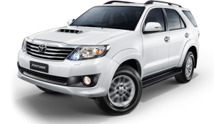 Toyota Fortuner (6 мест) - 2500 бат