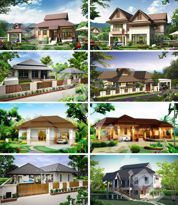 Hua Hin Nice Breeze все дизайны домов и вилл в поселке