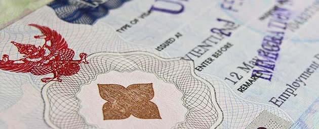 Новую 6 месячную визу в Таиланд начнут выдавать с 13 ноября 1