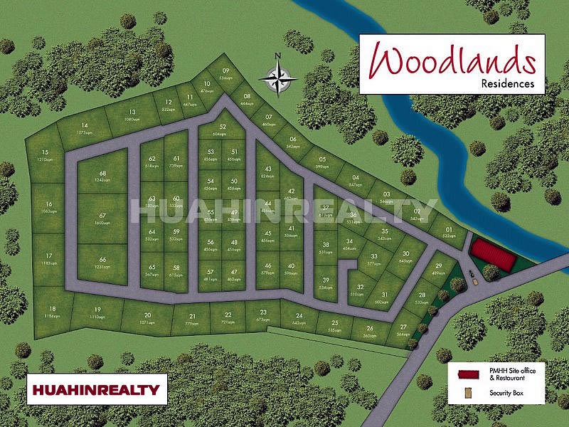 Woodlands Hua Hin Master Plan